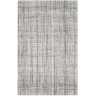 Dustin Hand-Tufted Gray Area Rug Rug Size: Rectangle 8' x 10'