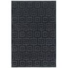 Fenella Solid Blue Area Rug Rug Size: Rectangle 5'2