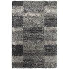 Leonard Gray/Charcoal Area Rug Size: Rectangle 6'7
