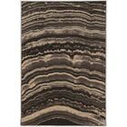 Wolfsburg Beige/Black Area Rug Rug Size: Rectangle 8' x 10'3