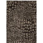 Cherelle Black Area Rug Rug Size: Rectangle 5'3