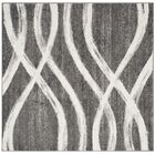 Graciano Ivory/Gray Area Rug Rug Size: Square 6'