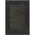Choncey Black/Gray Area Rug Rug Size: Rectangle 7'10