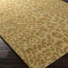 Macias Beige Animal Print Area Rug Rug Size: Round 9'9