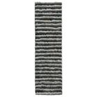 Chiana Hand-Tufted Graphite Area Rug Rug Size: Rectangle 8' x 10'