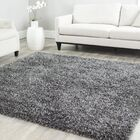 Anna Hand-Tufted/Hand-Hooked Charcoal Area Rug Rug Size: Rectangle 10' x 14'
