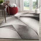 Anne Gray/Dark Gray Area Rug Rug Size: Rectangle 6'7