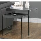 Liberty 2 Piece Nesting Tables Color: Grey
