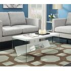Calorafield Coffee Table With Storage Color: White