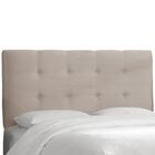 Kirkinriola Tufted Upholstered Panel Headboard Size: Queen