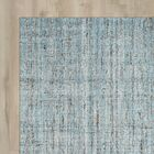 Dreshertown Hand-Tufted Blue/Gray Area Rug Rug Size: Round 6' x 6'