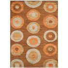 San Buenaventura Hand-Knotted Chocolate Area Rug Rug Size: Rectangle 8' x 10'