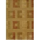 Shore Line Hand-Knotted Light Gold Area Rug Rug Size: Rectangle 9' x 12'
