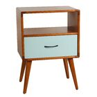 Collado End Table Color: Aqua