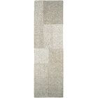 Ming Hand-Woven Gray/Light Brown Area Rug Rug Size: Runner 2'2