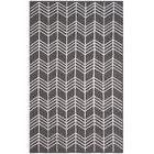 Corning Hand Woven Charcoal Area Rug Rug Size: Rectangle 4' x 6'