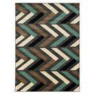 Halvard Gray/Turquoise Area Rug Rug Size: Rectangle 8' x 10'