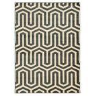 Hennings Ivory/Grey Area Rug Rug Size: Rectangle 5' x 7'