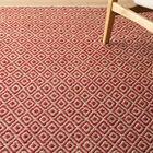 Kenzo Hand-Woven Pink/Beige Area Rug Rug Size: Rectangle 5' x 8'
