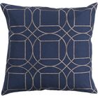 Lambda Linen Throw Pillow Size: 22