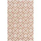 Berkeley Khaki/Beige Area Rug Rug Size: Rectangle 9' x 13'
