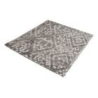 Hattem Hand-Tufted Gray/Cream Area Rug Rug Size: Rectangle 5' x 8'