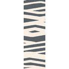 Carlton Ivory/Charcoal Gray Animal Print Area Rug Rug Size: Rectangle 8' x 11'