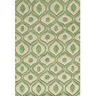 Ella Hand-Tufted Green Area Rug Rug Size: Rectangle 3'6