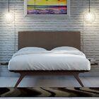 Hannigan Upholstered Platform Bed Color: Brown, Size: Full/Double