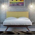 Hannigan Upholstered Platform Bed Color: Green, Size: Full/Double