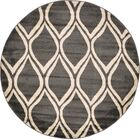 Hacienda Dark Gray Area Rug Rug Size: Rectangle 9'10