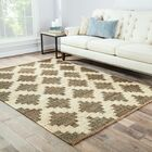 Aldred Lake Hand-Woven Grey Area Rug Size: Rectangle 5' x 8'