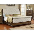 Belle Upholstered Sleigh Bed Size: Queen