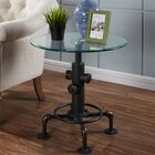 Daniella Metal Pipe Style End Table