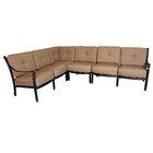 Baldwin Deep Seating Sectional Piece with Cushions
