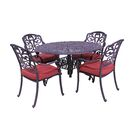Thurston 5 Piece Dining Set with Cushions