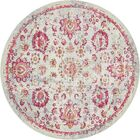 Lonerock Smooth European Pink Area Rug Rug Size: Round 8'4