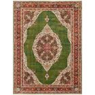 Lonerock Green/Red Area Rug Rug Size: Rectangle 10' x 13'