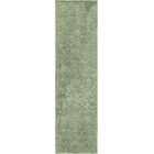 Moore Green Area Rug Rug Size: Rectangle 10' x 2'6