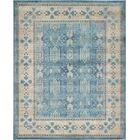 Brierfield Blue/Brown Area Rug Rug Size: Rectangle 8' x 10'