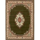 Britain Green Area Rug Rug Size: Rectangle 7' x 10'