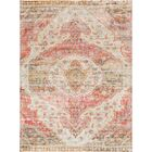 Parodi Pink/Yellow Area Rug Rug Size: Rectangle 9' x 12'