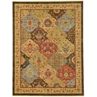 Jeannie Brown Area Rug Rug Size: Rectangle 9' x 12'