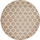 Moore Tan Area Rug Rug Size: Round 10'