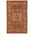 Jaida Red Tibetan Indoor Area Rug Rug Size: Rectangle 5'1