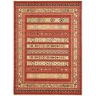 Foret Noire Rust Red Area Rug Rug Size: Rectangle 8' x 11'