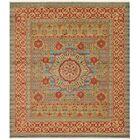 Laurelwood Yellow/Red Area Rug Rug Size: Rectangle 10' x 11'4