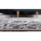 Keswick Dark Gray/Ivory Area Rug Rug Size: Rectangle 5' x 8'