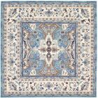 Duckett Light Blue Area Rug Rug Size: Square 8'4