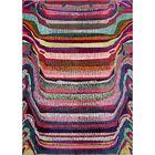 Vigna Purple/Pink Area Rug Rug Size: Rectangle 9' x 12'